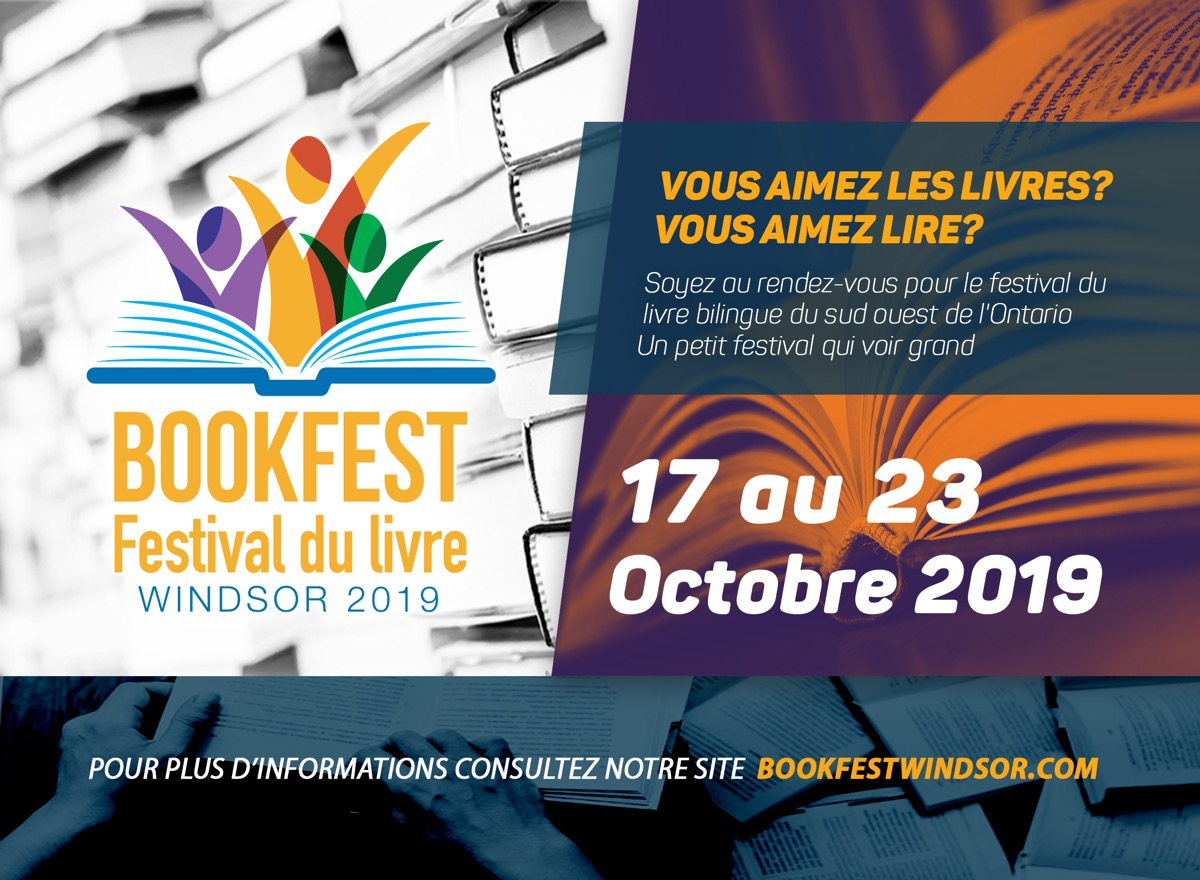 Bookfest 2019 Postcard French